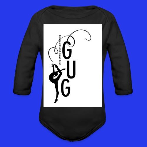 GUG logo - Baby Bio-Langarm-Body