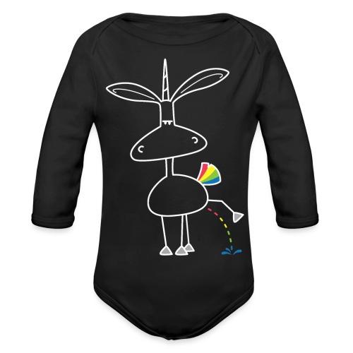 Dru - bunt pinkeln - Baby Bio-Langarm-Body