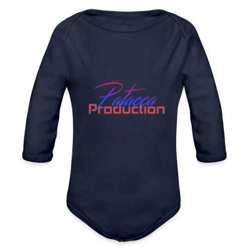 PATACCA PRODUCTION - Body ecologico per neonato a manica lunga