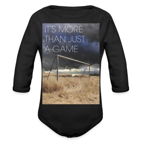 more - Organic Longsleeve Baby Bodysuit