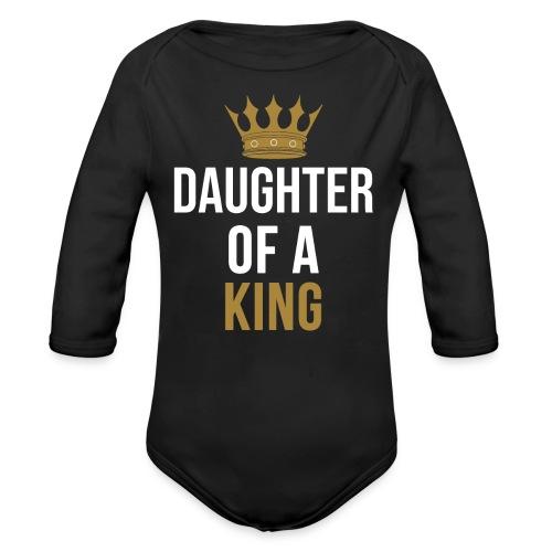 Daughter of a King Vater Tochter partnerlook - Baby Bio-Langarm-Body