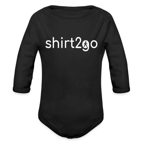 shirt2go - Baby Bio-Langarm-Body