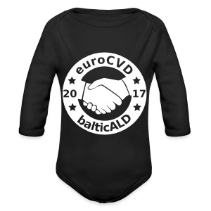 Joint EuroCVD - BalticALD conference mens t-shirt - Organic Longsleeve Baby Bodysuit