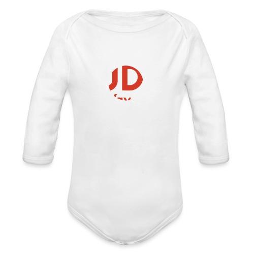 judo the way of life - Ekologiczne body niemowlęce z długim rękawem