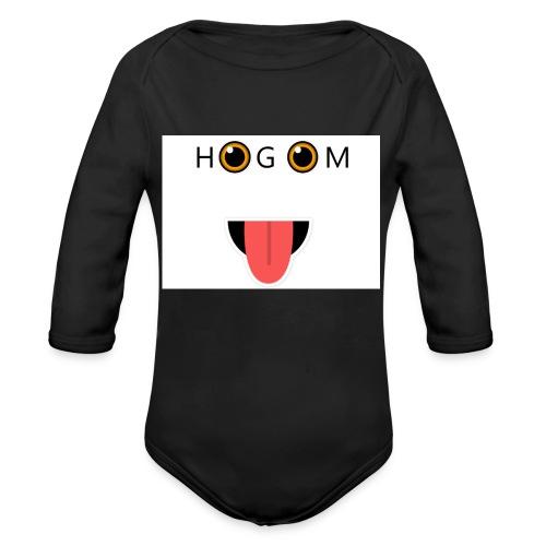 HetGameMisterie Logo - Baby bio-rompertje met lange mouwen