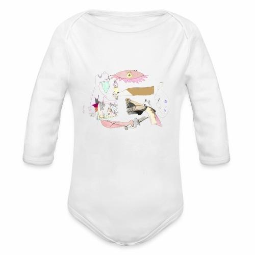 Pintular - Body orgánico de manga larga para bebé