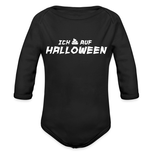 Anti Halloween Shirt Halloween Hasser Geschenk - Baby Bio-Langarm-Body