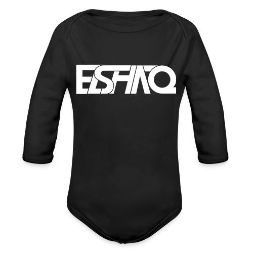 elshaq white - Organic Longsleeve Baby Bodysuit