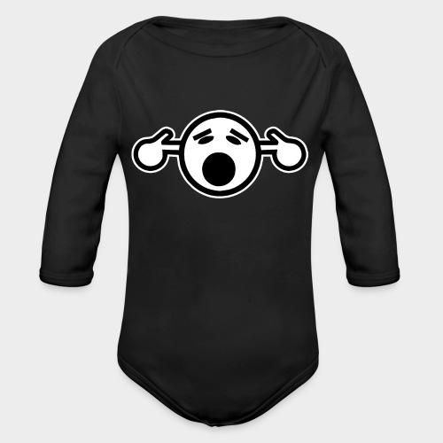 NO TE OIGO - Body orgánico de manga larga para bebé