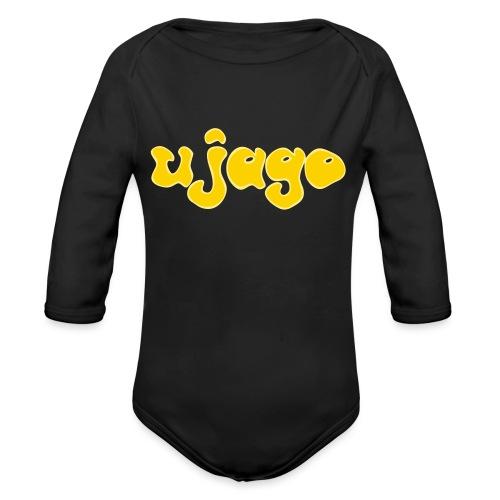 ujago gelb - Baby Bio-Langarm-Body