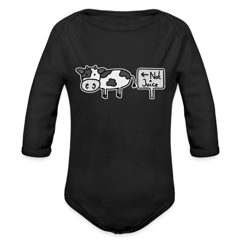 Not Juice (Original) - Organic Longsleeve Baby Bodysuit