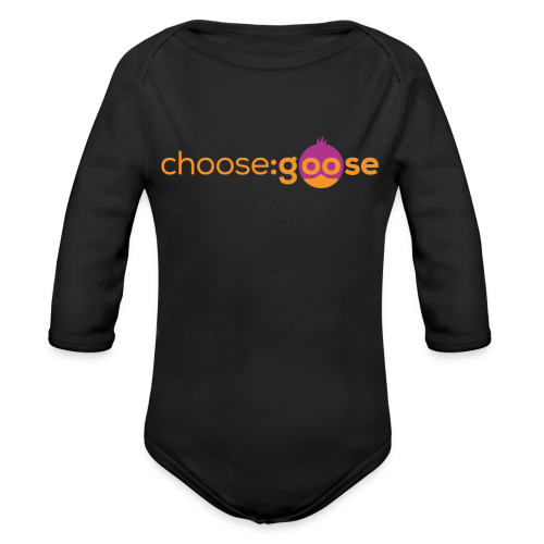 choosegoose #01 - Baby Bio-Langarm-Body