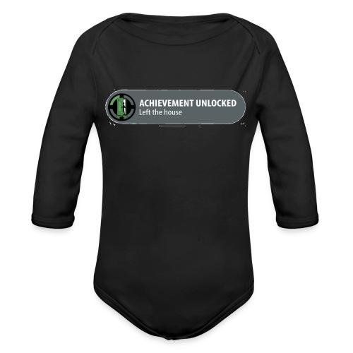 Achievement - Baby bio-rompertje met lange mouwen
