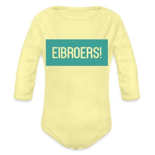 T-shirt Vrouwen - Baby bio-rompertje met lange mouwen