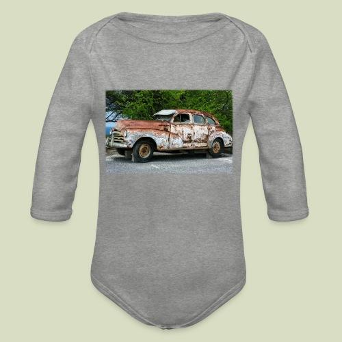 RustyCar - Vauvan pitkähihainen luomu-body