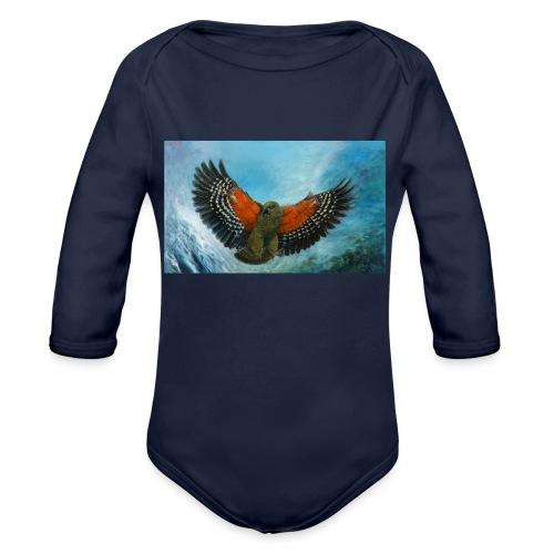 123supersurge - Organic Longsleeve Baby Bodysuit