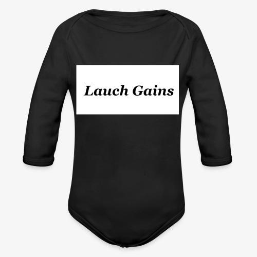 Lauch Gains - Baby Bio-Langarm-Body
