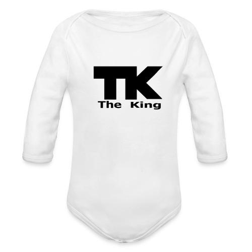 The King med ram - Ekologisk långärmad babybody