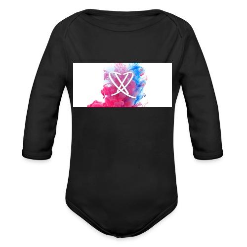 Box_logo - Langærmet babybody, økologisk bomuld