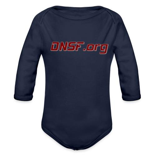DNSF t-paita - Vauvan pitkähihainen luomu-body