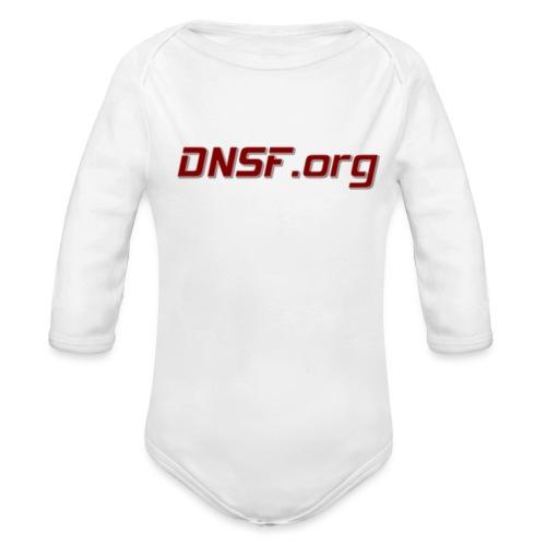 DNSF hotpäntsit - Vauvan pitkähihainen luomu-body