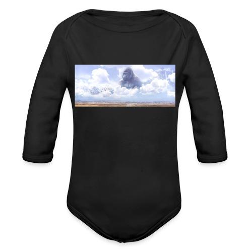 Harambe believes - Organic Longsleeve Baby Bodysuit