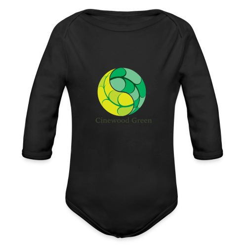 Cinewood Green - Organic Longsleeve Baby Bodysuit