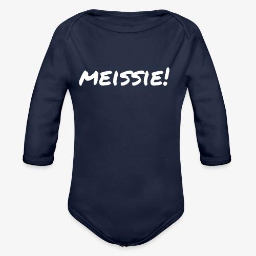 meissie - Baby bio-rompertje met lange mouwen