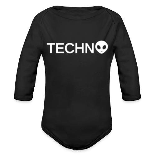 TECHNO3 - Ekologisk långärmad babybody