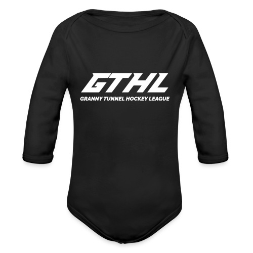 GTHL White - Vauvan pitkähihainen luomu-body