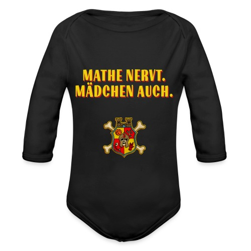 Wappen - Baby Bio-Langarm-Body
