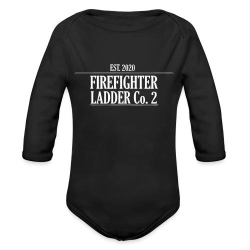 Firefighter Ladder Co. 2 - Langærmet babybody, økologisk bomuld