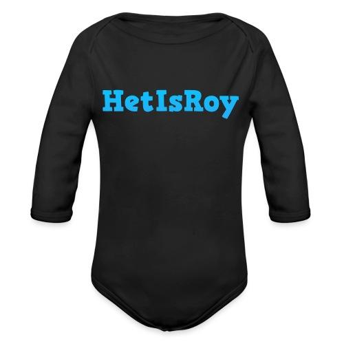 HetIsRoy - Baby bio-rompertje met lange mouwen