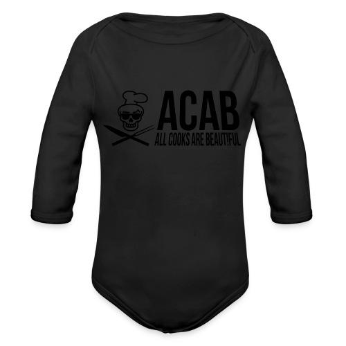 acablang - Baby Bio-Langarm-Body