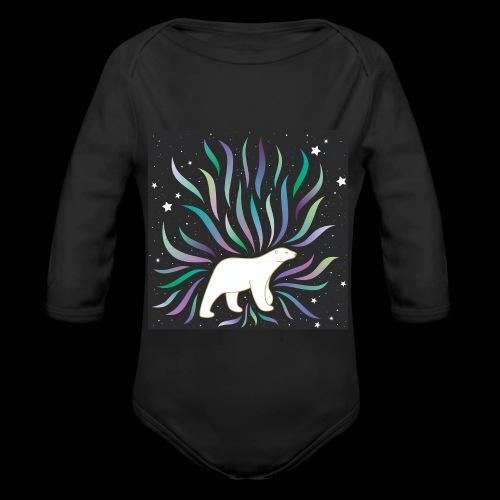 polar ours - Body Bébé bio manches longues