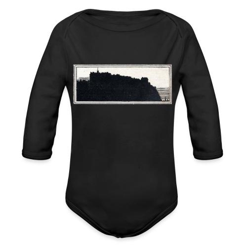 back page image - Organic Longsleeve Baby Bodysuit