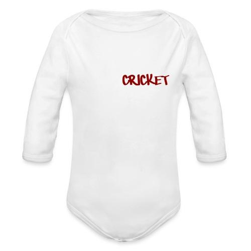 SmellCricket16 - Organic Longsleeve Baby Bodysuit