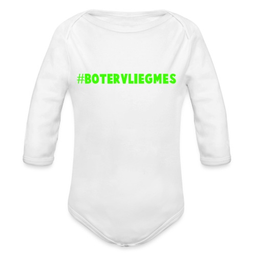 Botervliegmes T-shirt (kids) - Baby bio-rompertje met lange mouwen