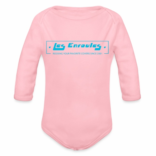 Rocking since 2001 - Blue - Body Bébé bio manches longues