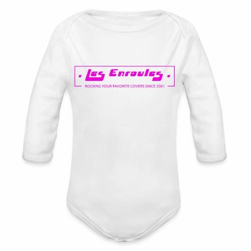 Rocking since 2001! Pink - Body Bébé bio manches longues