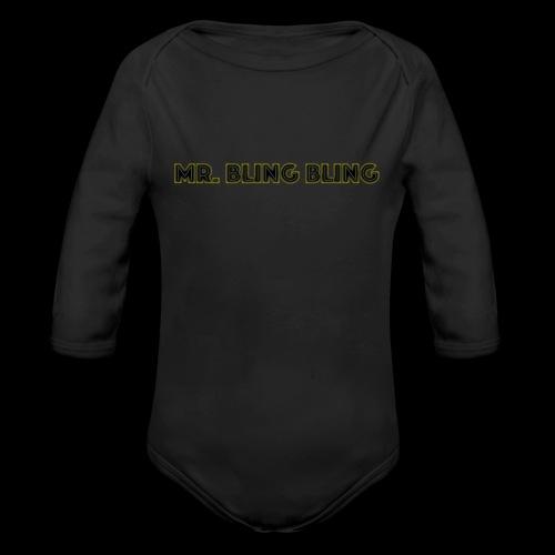 bling bling - Baby Bio-Langarm-Body