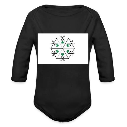 HighCube - Body ecologico per neonato a manica lunga
