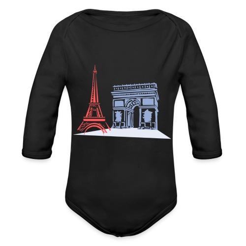 Paris - Body Bébé bio manches longues