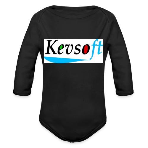 Kevsoft - Organic Longsleeve Baby Bodysuit