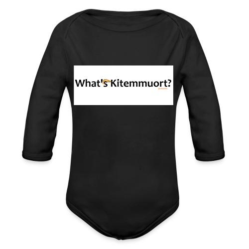 What'S Kitemmuort Trump - Body ecologico per neonato a manica lunga