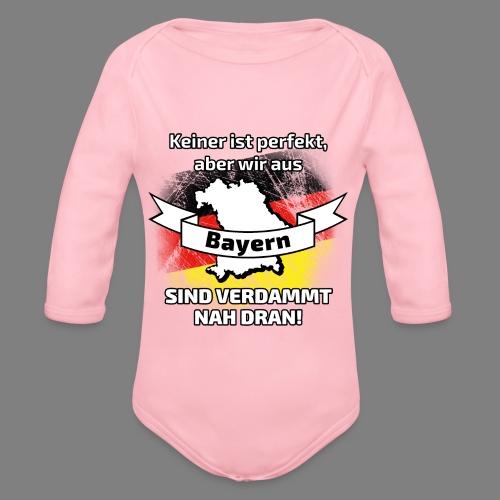 Perfekt Bayern - Baby Bio-Langarm-Body