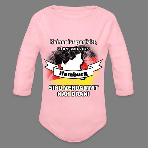 Perfekt Hamburg - Baby Bio-Langarm-Body