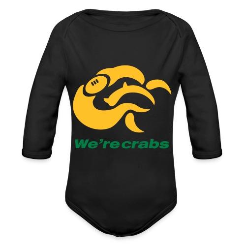 Crazycrab_Australia - Body ecologico per neonato a manica lunga
