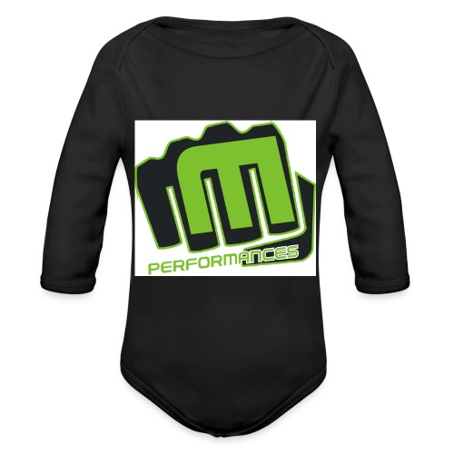 m_performances_jpg - Body ecologico per neonato a manica lunga