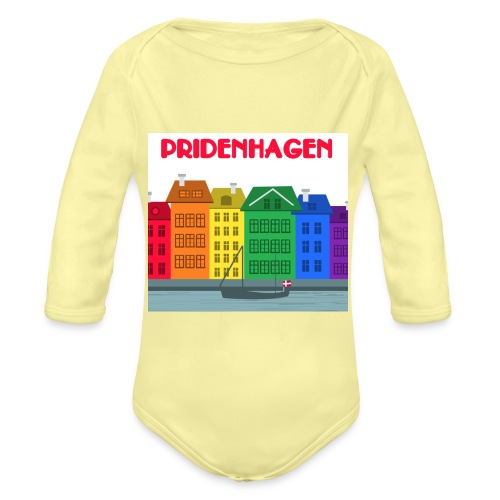 PRIDENHAGEN T-SHIRT - Langærmet babybody, økologisk bomuld